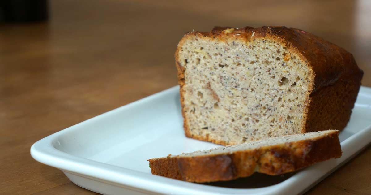 Gâteau au citron et graine de pavot