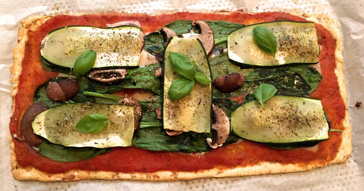 Envie d'une pizza végétarienne aussi saine que délicieuse ?