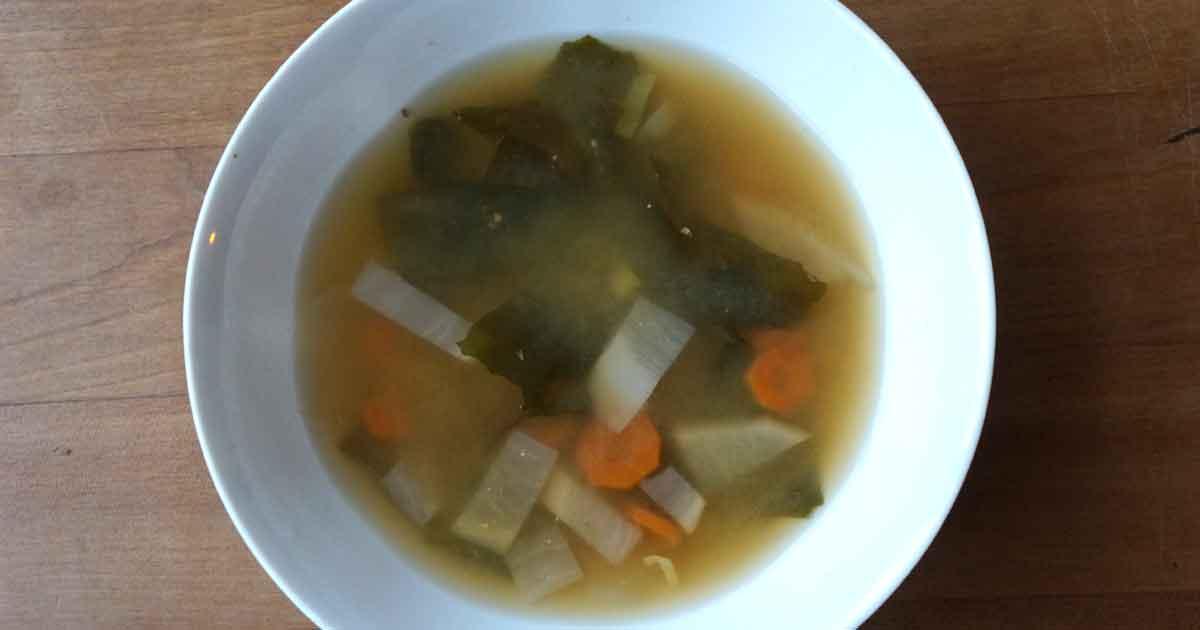 Soupe miso, élixir de santé et de vitalité