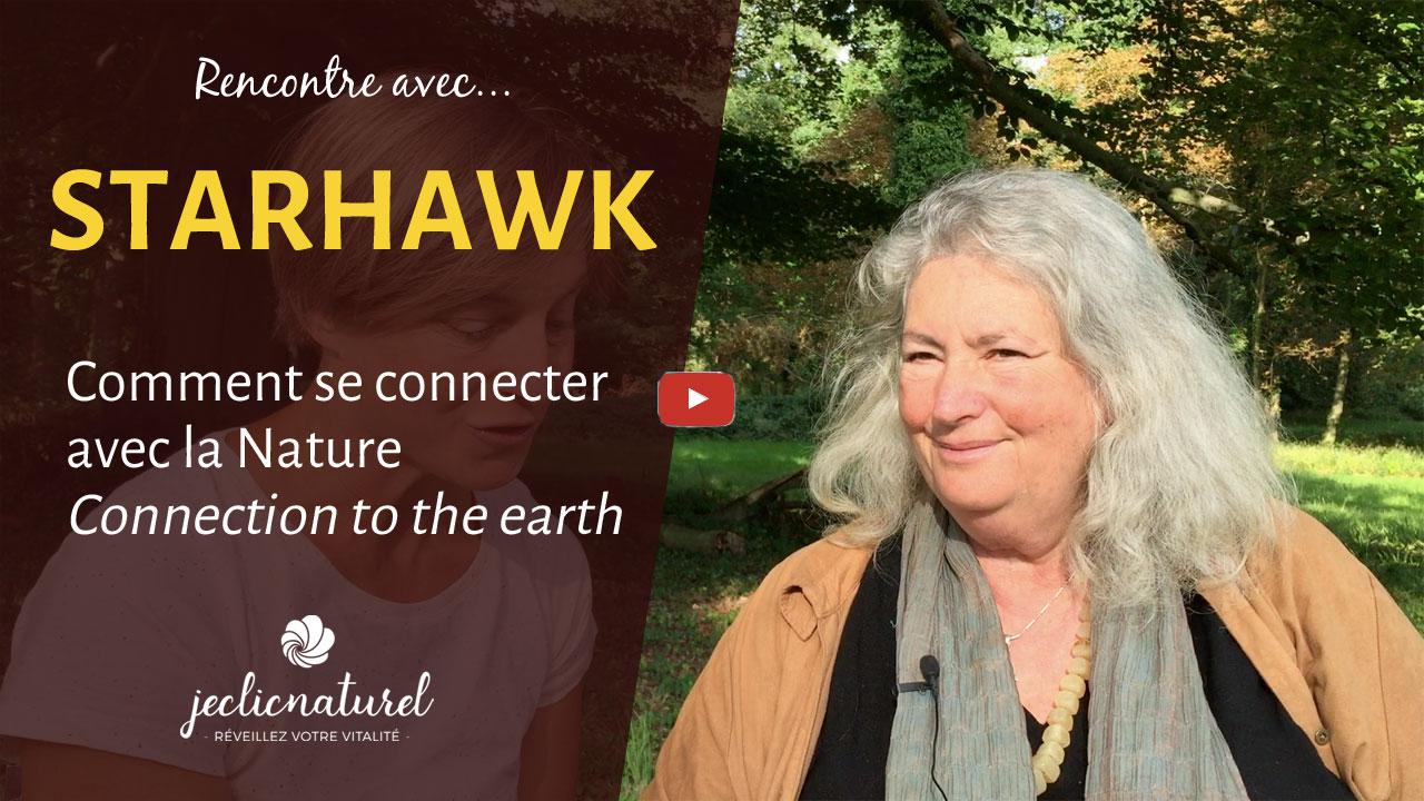 Notre lien avec la Nature : conversation avec STARHAWK
