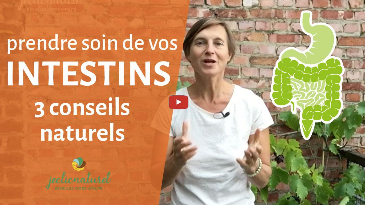 Prendre soin de vos intestins : 3 conseils naturels