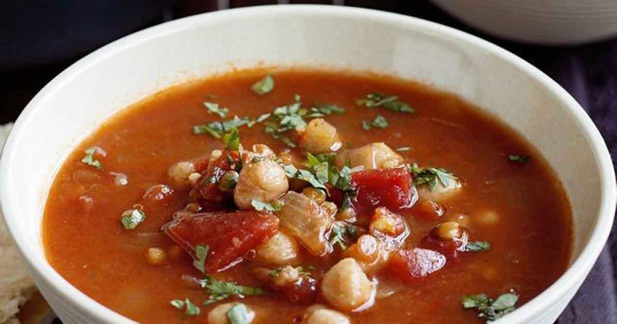 Harira : soupe traditionnelle marocaine