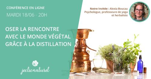 Alexia Boucau Hydrolat et Distillation des plantes sauvages