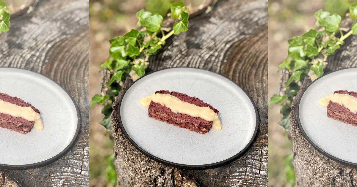 Gâteau betterave et chocolat
