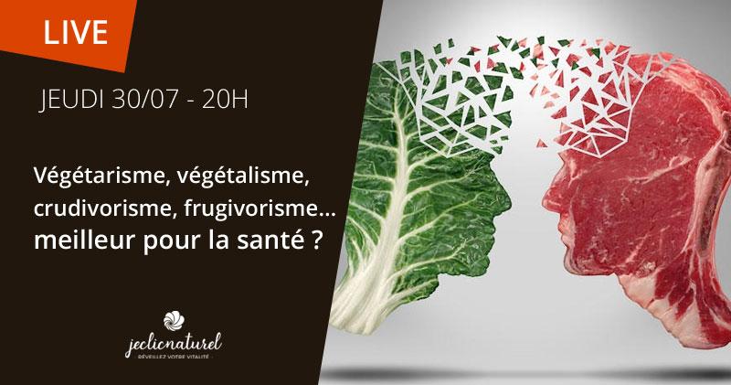 Vegan, végétarien, frigitarien... meilleur pour la santé ?